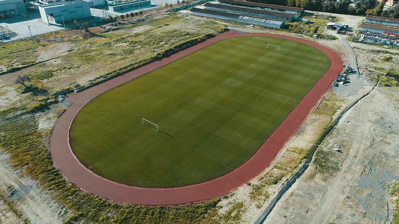 Cancha y Pista Atlética Campo Deportivo PF