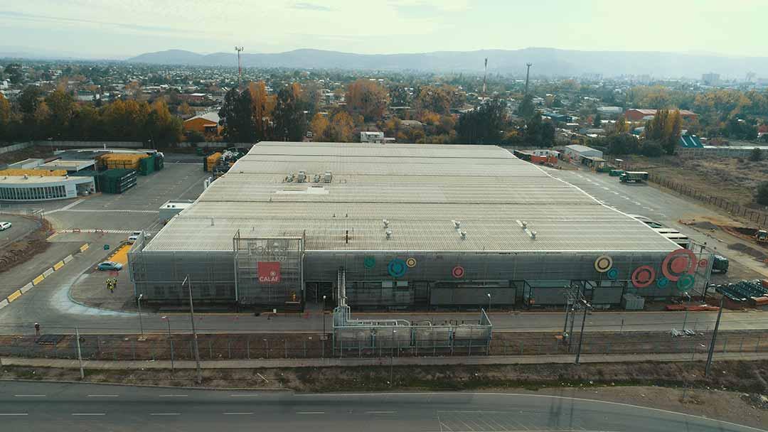 Remodelación Centro de Distribución Talca de Transportes CCU