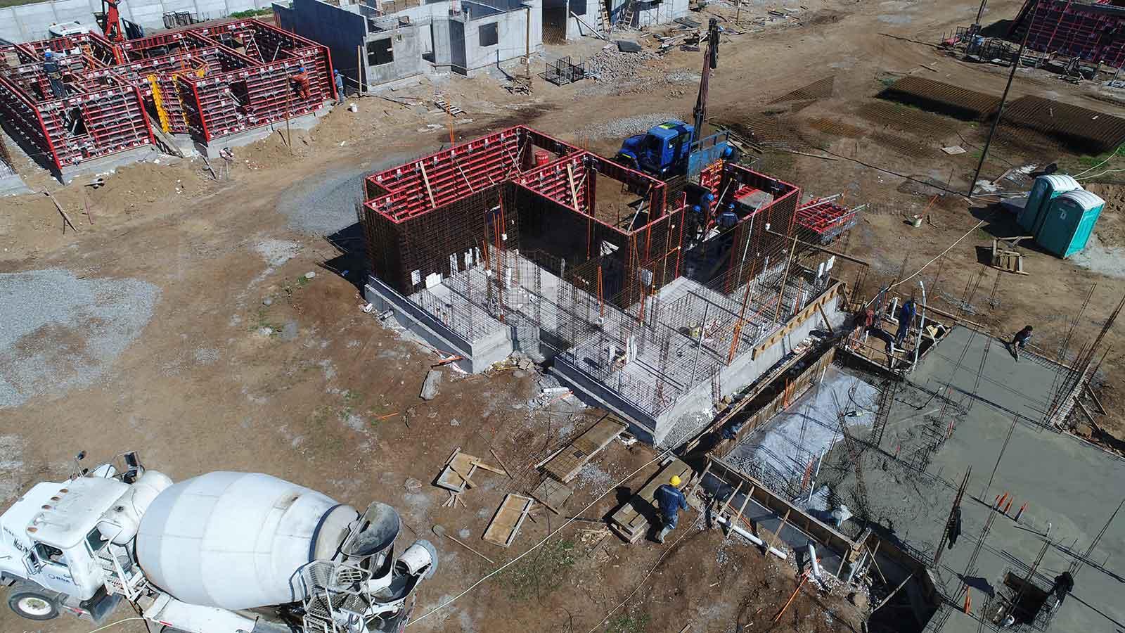 Construcción Condominio Los Nogales I