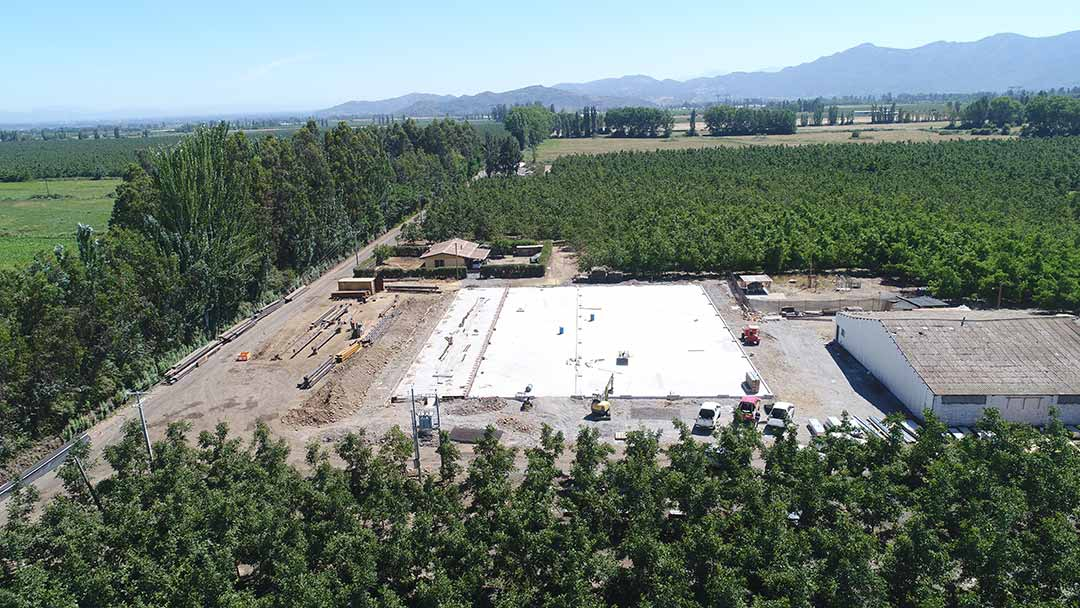 Construcción Planta Procesadora de Nueces